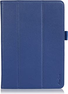 ProCase Galaxy Tab PRO 10.1 Tablet Case with Bonus Stylus Pen - Tri-Fold Smart Cover Stand Case for Galaxy TabPRO 10.1 inch SM-T520,T525 (Navy, Dark Blue)