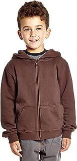 Kids & Toddler Hoodie Boys Girls 100% Cotton Zip-Up Hoodie Jacket (2-14 Years) Variety of Colors