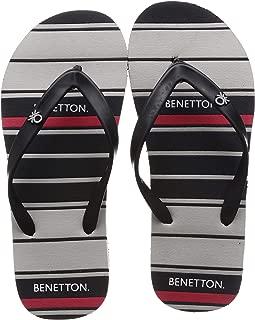 United Colors of Benetton Men's 19a8cffpm463i Flip-Flops
