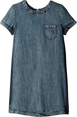 Release Side Seam Denim Dress (Big Kids)