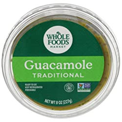 Whole Foods Market, Traditional Guacamole, 8 Ounce