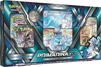 Pokemon TCG: Sun & Moon Guardians Rising, Primarina Premium GX Box Featuring A Specialty Pin