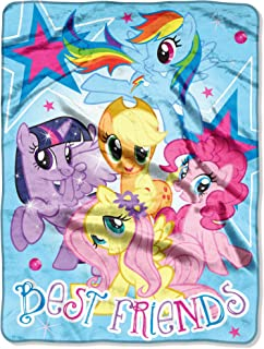 My Little Pony, Best Friends Micro Raschel Throw Blanket, 46