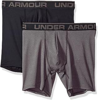 Under Armour mens Mesh Series 6-inch Boxerjock 2-Pack