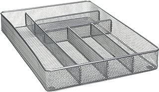 Mesh Large Cutlery Tray with Foam Feet - Silverware Storage by Storage Technologies