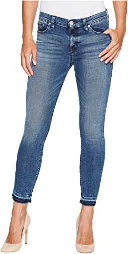 Hudson - Nico Mid-Rise Ankle Super Skinny w/ Released Hem in Instant Crush