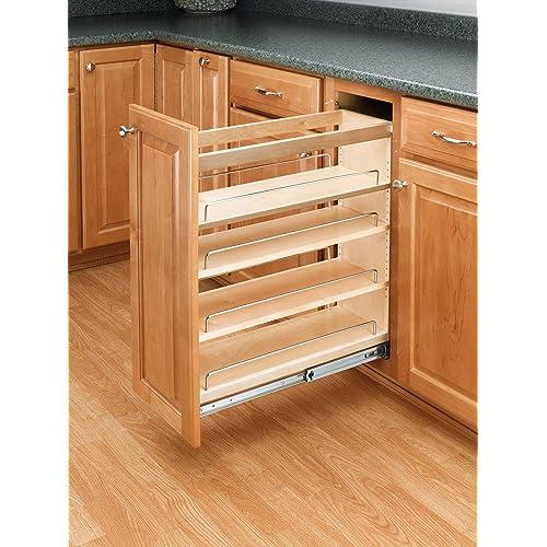 Kitchen Base Cabinet Shelving Amazon Com