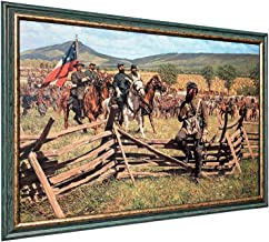 Bradley Schmehl THE PRINCE AND THE PROFESSOR - Framed Canvas - Signed & Numbered Limited Edition Civil War Art
