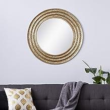 مرآة حائط ديكو 79 جولد جلام المعدنية, 39 x 39