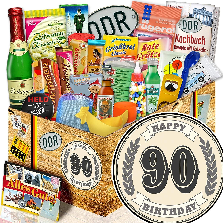 Geschenke zum Geburtstag 90. 90. 90.   DDR Allerlei 24tlg.   Geburtstags Geschenke 90 B07FNJ984N | Spielzeug mit kindlichen Herzen herstellen  85d16e
