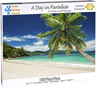 Twin Spring Goods 1000 Piece Jigsaw Puzzle, A Day In Paradise, 1,000 pcs