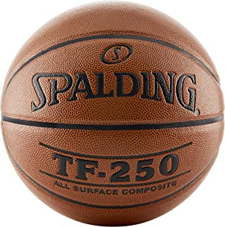 Spalding TF250 Men's 29-1/2 Inches Official Basketball, Orange