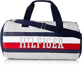 Tommy Hilfiger Unisex Iconic Dale Colourblock Canvas Duffle Bag Iconic Dale Colourblock Canvas Duffle Bag, Grape Leaf/Multi/Navy, One Size