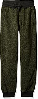 Southpole Boy's Basic Marled Fleece Jogger Pants