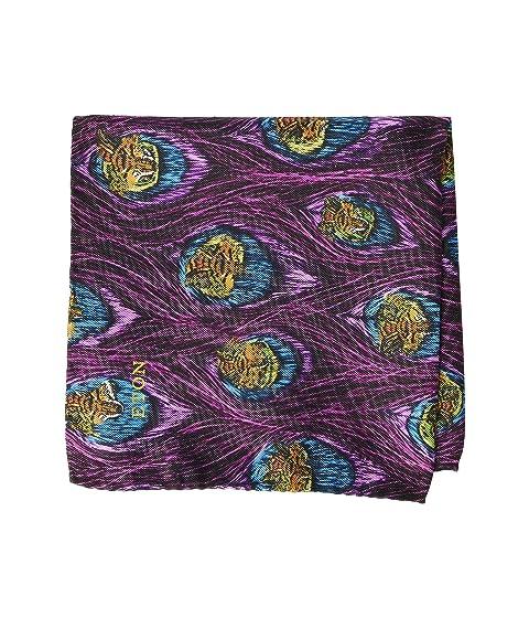 Eton Feather Print Pocket Square