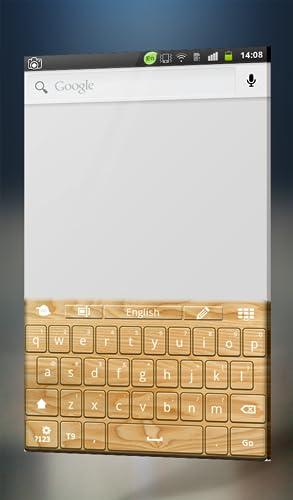 『木製キーボード』の2枚目の画像