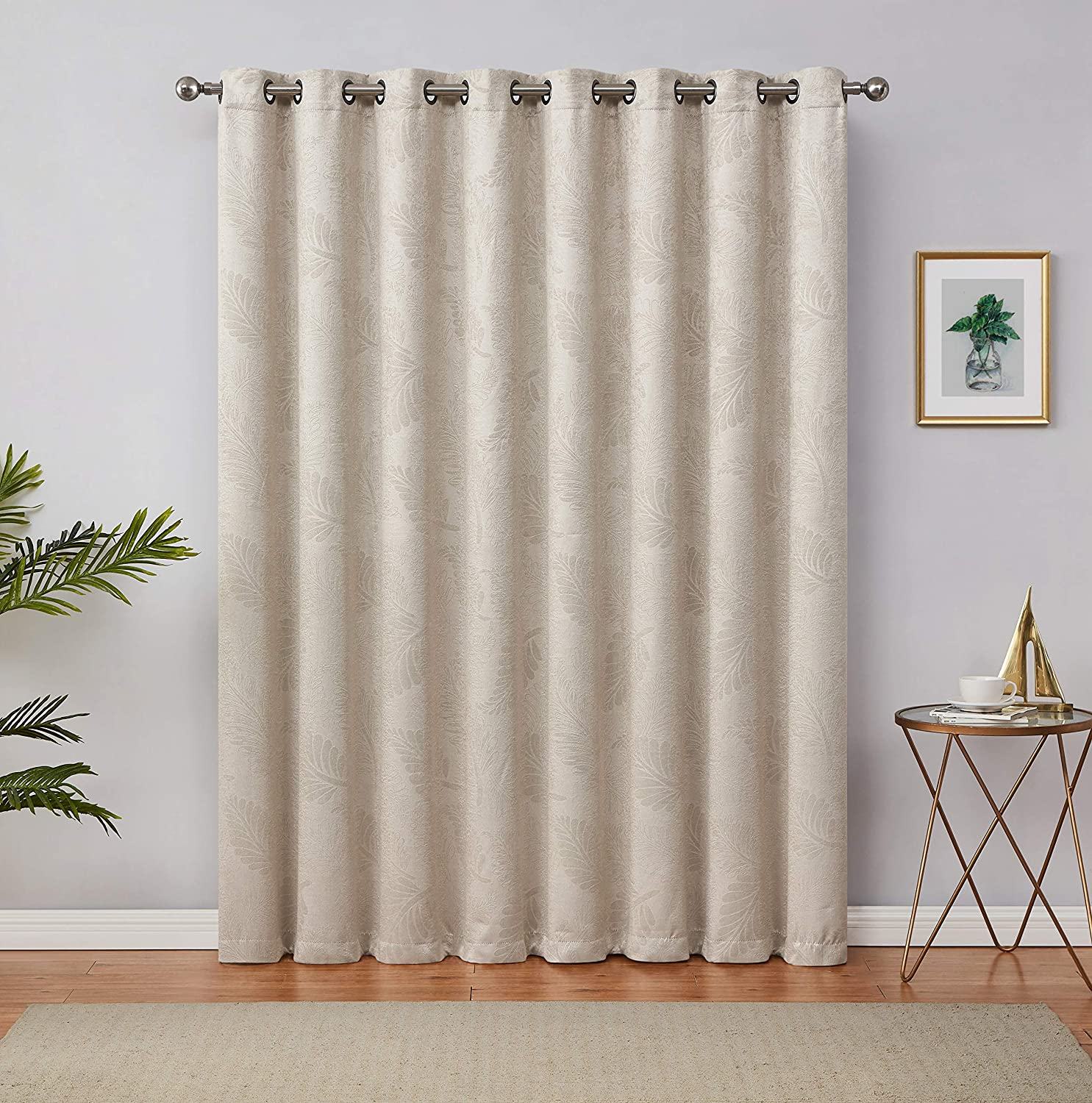 LinenZone 35% OFF Colorado Springs Mall - 3D Embossed Room Darkening Insulated Thermal Drapes