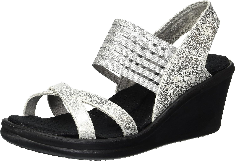 Skechers Womens Rumblers - Glam Society Wedge Sandal
