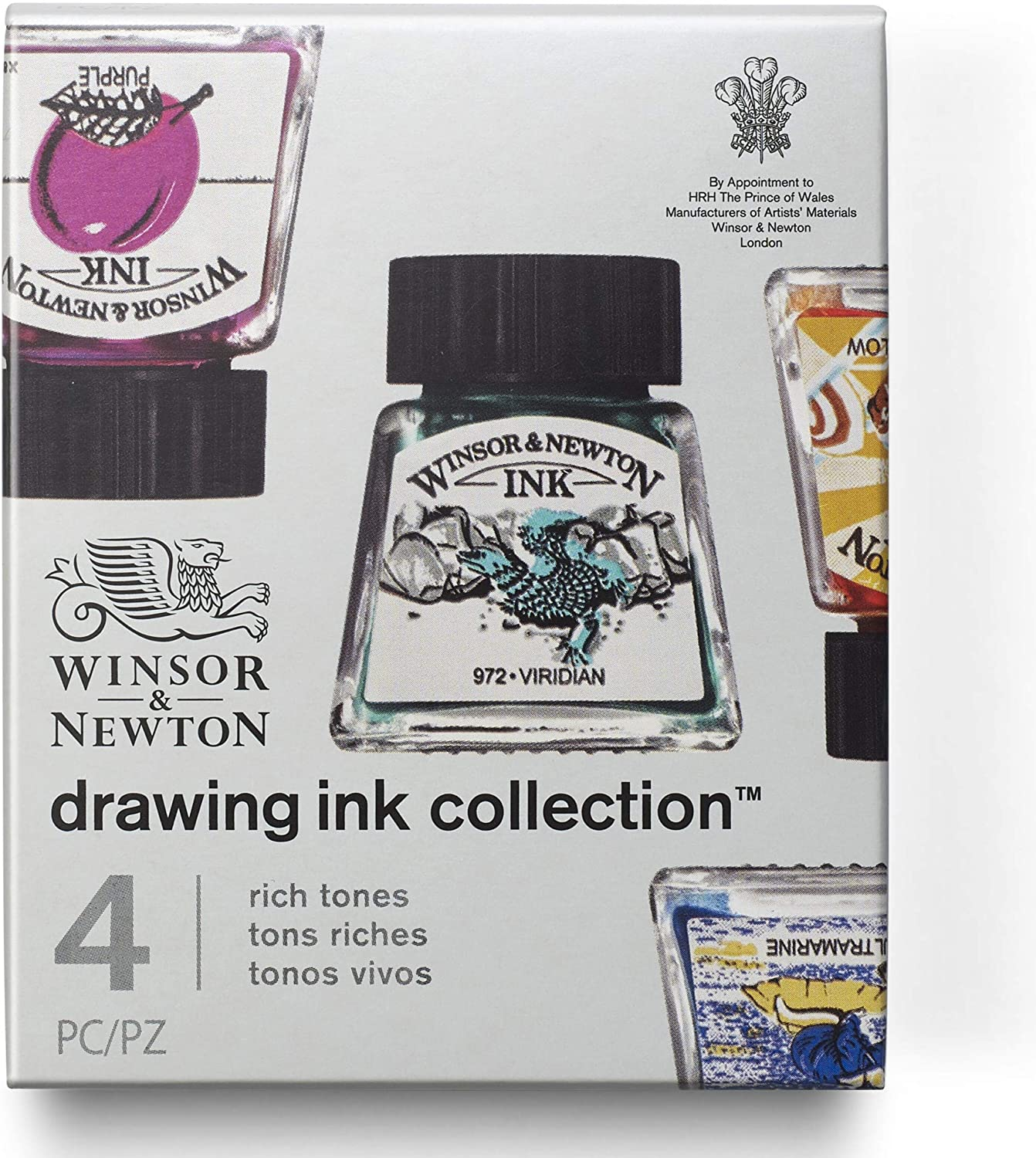 Winsor Newton Collection Drawing A surprise price is realized Ink Fashionable Set Tones Rich