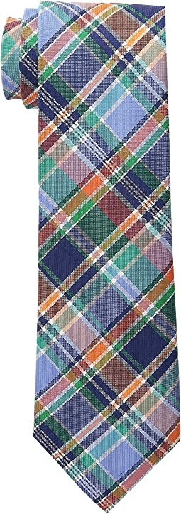 Shirting Plaid Cotton Tie
