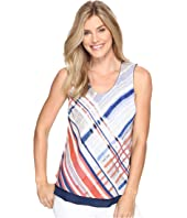 NIC+ZOE - Painted Plaid Tank