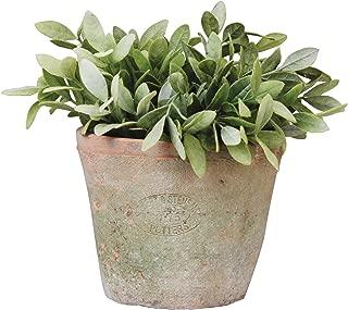 Esschert Design AT03 Aged Terracotta Round Pot, 6 x 6 x 5