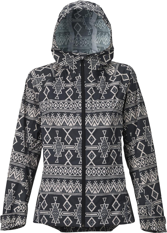 Burton Women's GoreTex DayLite Rain Jacket, Everglade Pond Camo, Large