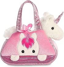 Aurora World 32795 Aurora Fancy-Pal Peek-A-Boo Pet Carrier, Pink and White, 8in, Unicorn Gift