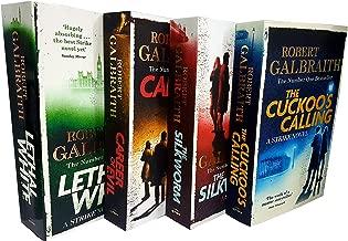 Cormoran strike series robert galbraith 4 books collection set