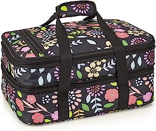 VP Home Double Casserole Travel Bag (Garden Party)