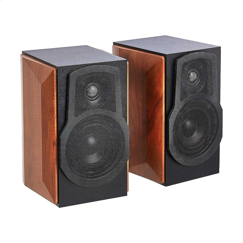 Amazon Basics Las Vegas Mall Bookshelf Sales Speakers with 50-2 50W Speaker Passive