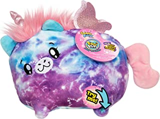 """Pikmi Pops Jelly Dreams - Twinkle Fairies Series - Stella The Unicorn - Collectible 11"""" LED Light Up Glowing Plush Toy"""