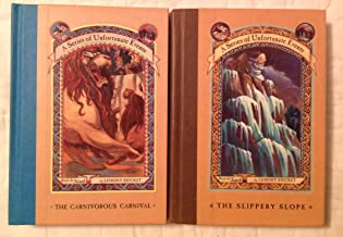 2 Books! #9 ,#10 ! 1) The Carnivorous Carnival 2) The Slippery Slope (A Series of Unfortunate Events),