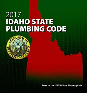 2017 Idaho State Plumbing Code with Tabs