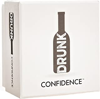 Drunk Confidence Game - A Drinking Party Game for You and Your Overconfident Friends. Adult Party Drinking Game.