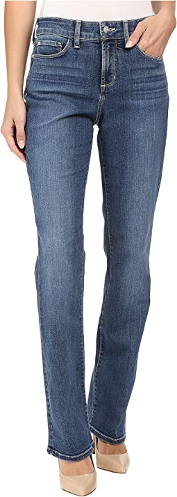 NYDJ Marilyn Straight Jeans in Heyburn Wash