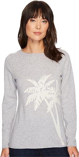Tommy Bahama - Island Cashmere Palm Intarsia