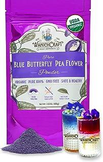 ORGANIC Blue tea Butterfly pea flower tea Butterfly pea tea Butterfly blue tea Butterfly blue pea tea organic Butterfly te...