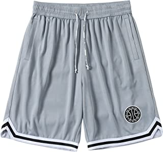 nobrand ZONEiD Men's Shorts Breathable Gym Basketball Athletic Shorts for Men Comfort Mesh Running Shorts with Pockets (Gr...