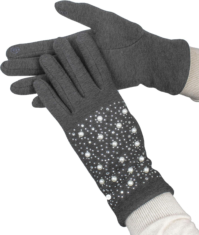 Gloves International Women's L4641, charcoal, L/XL