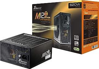 Seasonic M12II EVO 620 SS-620GM2 620W 80+ Bronze EVO Edition ATX12V & EPS12V Full Modular 105 °C Japanese Capacitor 5 Year Warranty Power Supply