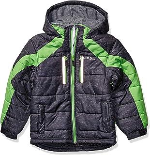 LONDON FOG boys Active Puffer Jacket Winter Coat