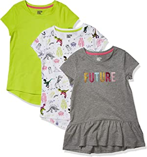 Amazon Brand - Spotted Zebra Girls Short-Sleeve Tunic T-Shirts