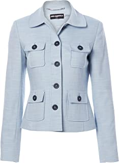 womens Peter Pan Collared Jacket