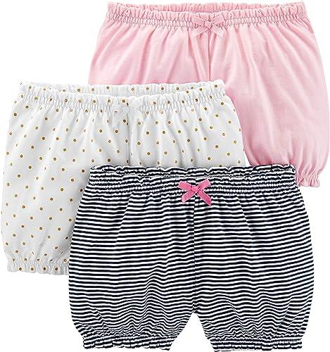 Simple Joys by Carter's Lot de 3 shorts pour bébé fille