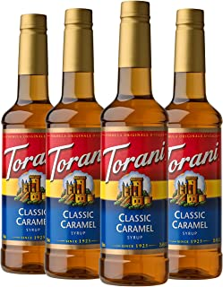 Torani Syrup, Classic Caramel, 25.4 Ounces (Pack of 4)