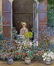 Claude Oscar Monet Camille Monet at The Window, Argenteuile Virginia Museum of Fine Arts 30