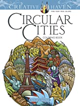 Creative Haven Circular Cities Coloring Book (Creative Haven Coloring Books)