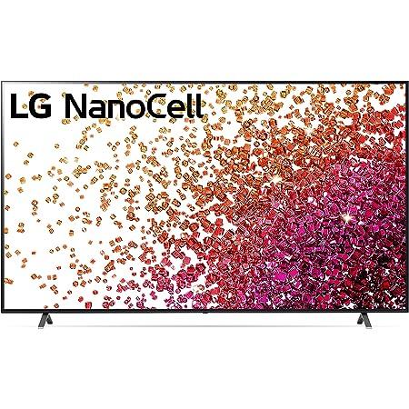 "LG NanoCell 75 Series 86"" Alexa Built-in 4k Smart TV (3840 x 2160), 120Hz Refresh Rate, AI-Powered 4K Ultra HD, Dolby Cinema, Dolby Vision (86NANO75UPA, 2021)"
