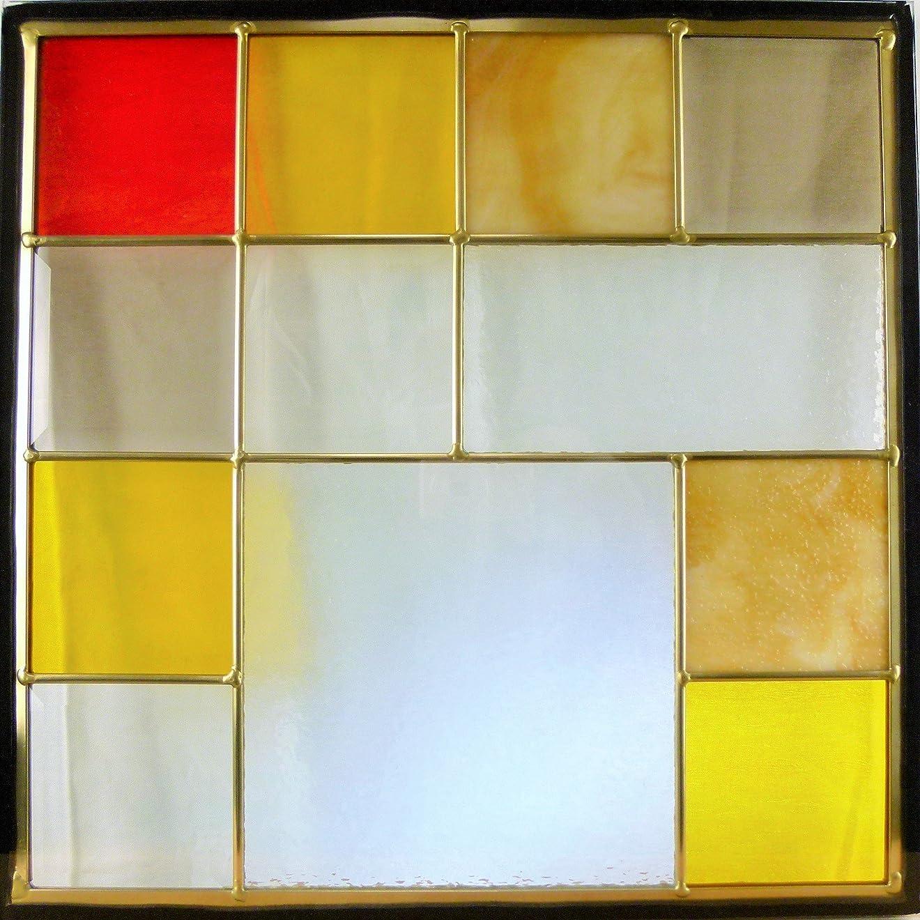 ページェント資本恵みステンドガラス窓ドア壁材料三層デザインパネルハンドメイド手作り高級ステンドグラスsgsq431